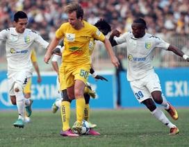 Vòng 20 V-League 2013: Cuộc chiến nóng bỏng ở nhóm đầu