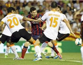 Messi lập hattrick, Barcelona thắng nghẹt thở Valencia