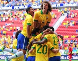 Brazil thắng đậm Australia bằng tỷ số tennis