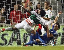 C. Ronaldo lập cú đúp, Real Madrid thắng nghẹt thở Elche