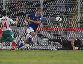 Hạ Bulgaria, Italia tiến sát đến tấm vé dự World Cup 2014