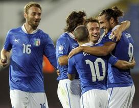 Italia và chiếc vé đến Brazil trong tầm tay