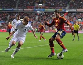 Tây Ban Nha tạo lợi thế để giành vé dự World Cup 2014