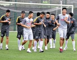 U23 Việt Nam tập luyện hứng khởi ngày đầu tiên