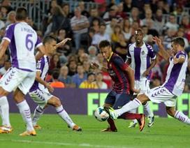 Neymar tỏa sáng, Barcelona thắng trận thứ 8 liên tiếp ở La Liga