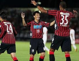 Công Vinh chơi 60 phút trong trận Sapporo thắng đậm