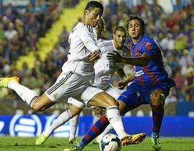Real Madrid ngược dòng đánh bại Levante đầy nghẹt thở