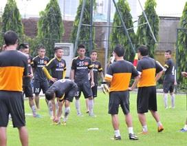 U23 Việt Nam tập chay trong nước chuẩn bị cho SEA Games 27