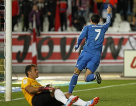C. Ronaldo dính chấn thương trong ngày Real Madrid thắng đậm