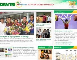 Báo Dân trí ra mắt chuyên mục SEA Games 27