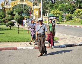 Một Yangon rất thanh bình