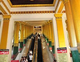 Tận mắt chiêm ngưỡng vẻ đẹp ngôi chùa Shwedagon ở Yangon