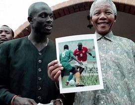 Những khoảnh khắc đẹp của cựu tổng thống Nelson Mandela với bóng đá