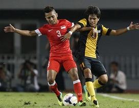 Hòa Malaysia, U23 Singapore giành quyền vào bán kết