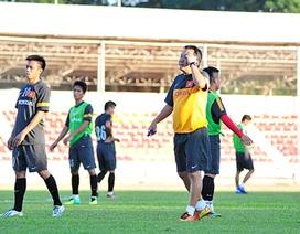 """HLV Hoàng Văn Phúc huỷ kế hoạch xem """"chân cẳng"""" U23 Thái Lan"""