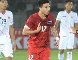 U23 Thái Lan bất phân thắng bại cùng Myanmar