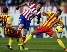 Barcelona bất phân thắng bại cùng Atletico