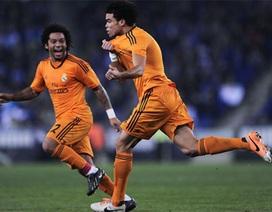 """""""Gã đồ tể"""" Pepe giúp Real Madrid giành 3 điểm tại Cornella"""