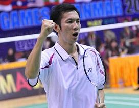 Tiến Minh bị loại sớm tại giải Malaysia mở rộng