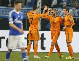 C. Ronaldo lập cú đúp, Real Madrid hạ Schalke 6-1
