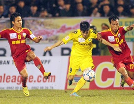SL Nghệ An giành 3 điểm chật vật trên sân nhà