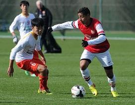 Cầu thủ U19 Việt Nam không tin vào chiến thắng trước U19 Arsenal