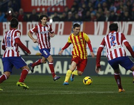 "Barcelona - Atletico: ""Song hổ"" giao đấu"