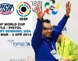 Xạ thủ Hoàng Xuân Vinh phá kỷ lục thế giới