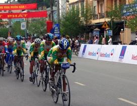Kịch tính vòng đua tính điểm quanh TP Điện Biên Phủ