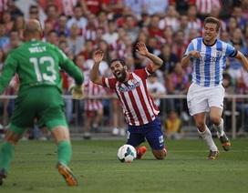 Bị Malaga cầm hòa, Atletico không thể đăng quang sớm