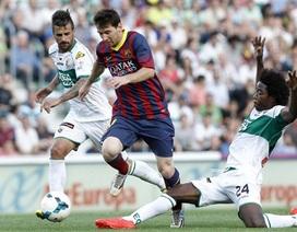 Hòa Elche, Barcelona lỡ cơ hội bám sát Atletico