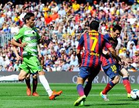 Hòa Getafe, Barcelona sắp tan mộng vô địch La Liga