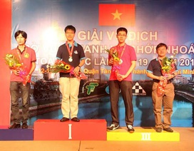 Quang Liêm đoạt 1 HCV, 1 HCB ở giải cờ nhanh - cờ chớp quốc gia