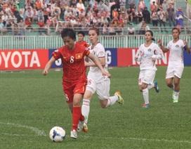 Đội tuyển nữ Việt Nam thắng thuyết phục Jordan