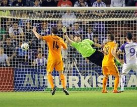 Hòa Valladolid, Real Madrid tan mộng vô địch La Liga