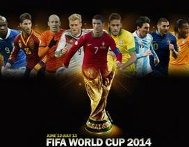 VTV chính thức sở hữu bản quyền World Cup 2014