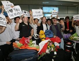 Nhóm nhạc mô phỏng The Beatles xuất hiện tại Thủ đô