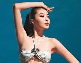 Người tình của Quách Phú Thành sexy với áo tắm