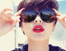 Song Hye Kyo cuốn hút với sắc đỏ