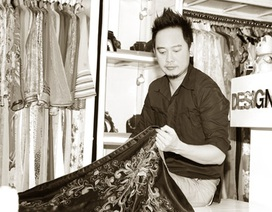 Võ Việt Chung mang áo dài đến Hội chợ thời trang Hàn Quốc