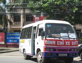 Hàng chục xe khách diễu hành phản đối... xe buýt