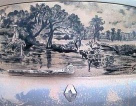 Biến ô tô phủ bụi thành tác phẩm nghệ thuật