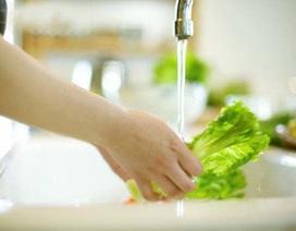 Cách rửa rau sạch trứng giun sán?