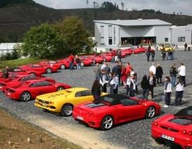 Lễ hội của chủ xe Ferrari