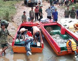 Giải cứu hàng ngàn người Campuchia mắc kẹt trong bão số 9