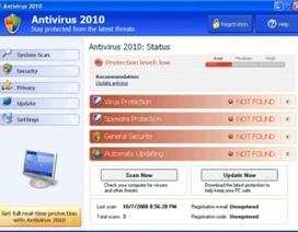 Phần mềm diệt virus giả có trên hàng triệu máy tính