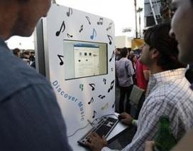 Google lấn sân sang âm nhạc trực tuyến