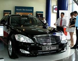 Không tăng thuế nhập ô tô trong năm 2010