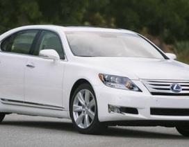 Lexus tăng giá xe LS phiên bản 2010