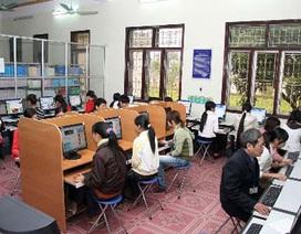 """Thư viện """"nghèo nàn"""", sinh viên """"lụy""""… Google"""